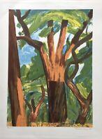 Finn Have (1952) Trees - Denmark - Modern Scandinavian Type 1994 Lithography