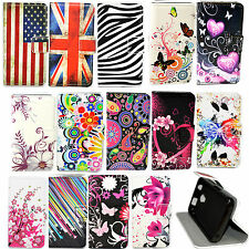 Wallet Phone Stand Leather Case Cover For Huawei Honor Y3C Y5C Samsung J1 J2 J3