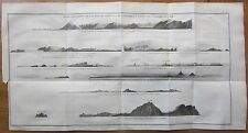 Cook: *Large Panorama America Alaska Cook River etc. - 1774