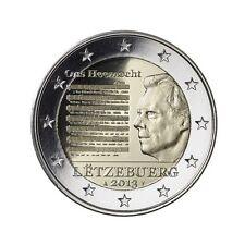 "2 euro 2013 Luxemburg  ""National Hymne"" Commemorative -  zo uit de rol!"