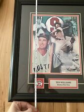 Ted williams Boston Red Sox 16x12 Framed Action Photo Picture