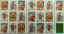 1995 CHRISTMAS STAMP BOOKLET OF 20 MNH SCOTT#3008-3011a