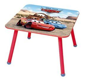 Tisch Disney IN Holz Cars - Maße: 60 CM X Mit Höhe 43,5 CM Baby