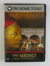 THE MEDICI Godfathers Of The Renaissance DVD Empires PBS Home Video History TV