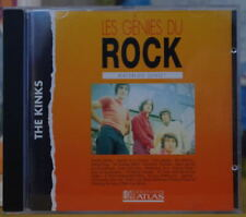 THE KINKS LES GENIES DU ROCK COMPACT DISC EDITIONS ATLAS
