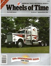 25th Anniversary Wheels of Time Magazine - Navajo - Kenworth W900L Truck