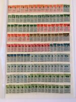 GERMANY - DEUTSCHES REICH - 11 DEALER STOCK PAGES FULL OF STAMPS, MINT/NH & USED