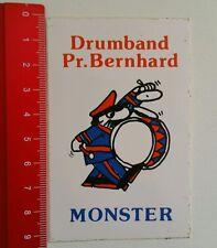 Aufkleber/Sticker: Drumband Pr. Bernhard Monster (110616173)