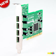 Adaptec 4-port High Speed USB 2.0 PCI Controller Adapter Host Card AUA-4000