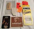 Vintage Fred Bear Archery Grizzly 2 Compound Bow Booklet + Receipts Bear  C1981