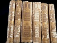 Very rare collection of 6 antique 1861-Handbook to the Cathedrals of England