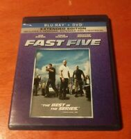 Fast Five Extended Edition Blu-ray Vin Diesel , Paul Walker , Dwayne Johnson