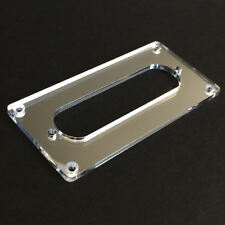 Guitar Parts CONVERSION PICKUP MOUNTING RING Humbucker Single Coil CHROME MIRROR