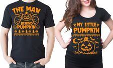 Pregnancy Halloween Maternity Couple Shirts Matching Halloween Pumpkin Costumes