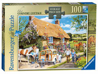 13615 Ravensburger The Country Cottage Jigsaw Puzzle 100 Pieces Age 12+ Years