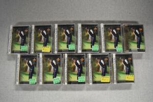 Lot of (11) 2001 Upper Deck Tiger Tales Complete Sets Tiger Woods Rookie BZ063