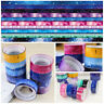 10 pcs/set Creative Stationery DIY Decor ticker Sky Masking Tape Adhesive
