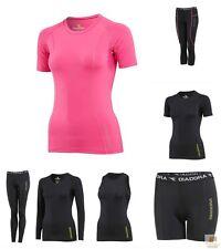 DIADORA Ladies Compression Sports Tights Thermal Fitness Running Gym Yoga 8-16