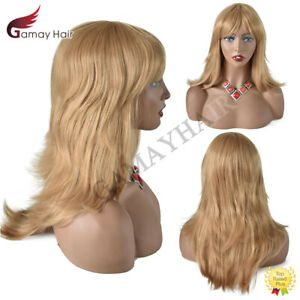 """Layered Long Synthetic Hair Machine Made Women Wigs Premium Quality Natural 22"""""""