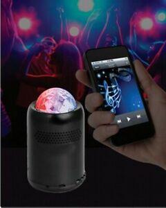 Top Quality Mini Bluetooth® Speaker With disco light