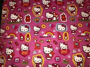 Dragon Ball Z Polyester Blend Fabric BTFQ Fat Quarter 18x22