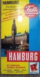 Falk Stadtplan Hamburg 79. Auflage