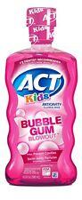 ACT Kids Anticavity Fluoride Rinse, Bubblegum Blowout, 16.9 oz (9 Pack)