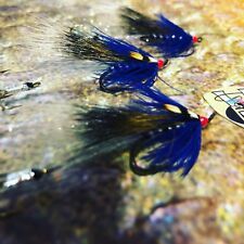 3 V Fly Size 6 Ultimate RV Silver Blue Secret Weapon Tandem Sea Trout Flies