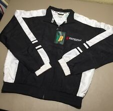 VTG Prince Windbreaker Jacket Small S Tennis Racquetball Team Ektelon Black New