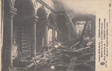 CPA GUERRE 14-18 WW1 VERDUN maison de la rue de la belle vierge timbrée 1917