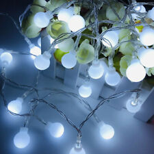 20/30/50/100 LED Battery Fairy Lights String Ball Lights Wire USB Remote Party