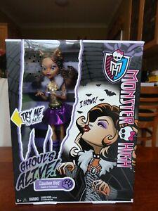Monster High doll Clawdeen Wolf GHOUL'S ALIVE 2012 BNIB