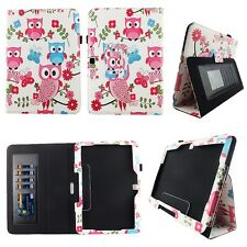 White Owl Bu Fit for Samsung Galaxy Tab 4 Nook 10 Inch Tablet Case Cover ID Slot