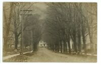 RPPC Street View in NAPLES NY Finger Lakes Ontario County Real Photo Postcard