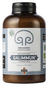 BIO Galimmun Reishi Ganoderma lucidum 150 g Pilzpulver Mushroom Powder
