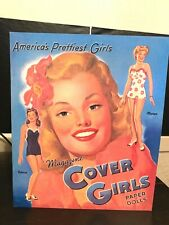 2000 Magazine Cover Girls Paper Dolls un-cut B Shackman & Co. Inc.