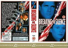 DOUBLE SIDED PROMO VIDEO SLEEVE - BREAKING THE SILENCE / GUILD HOME VIDEO