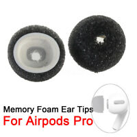 2Pcs Air Memory Foam Ear Tips Buds Cap For Airpods Pro For Airpods 3