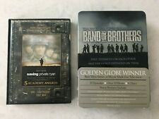 LOT 2 Saving Private Ryan D-Day 60th Anniversary + Band Of Brothers 6 DVD Set