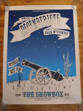 The Decemberists Cass McCombs Poster Print Matt Treich # 52/100 Showbox Seattle