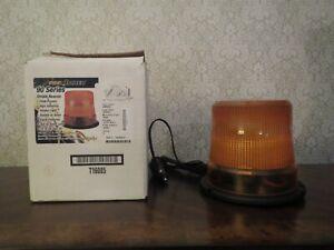 NOS PSE Amber 90 Series Full Range Strobe Beacon Code 3 Safety Equipment in Box