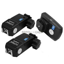 Wireless Flash Trigger PT-04 TM 4 Channel With 2 Receivers