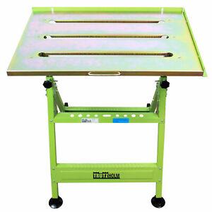 Schweißtisch klappbar höhenverstellbar Werktisch Werkbank Werkstatttisch 150 kg