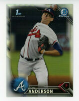 2016 Bowman Chrome Draft IAN ANDERSON 1ST Rookie Card REFRACTOR #BDC-120 Braves