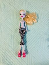 Monster High Nude Doll Skull Shores Lagoona Blue With Arms & Hands Mattel