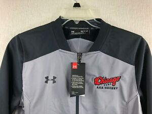 NEW! - Under Armour Chicago Fury AAA Hockey Full Zip Jacket Men's Small