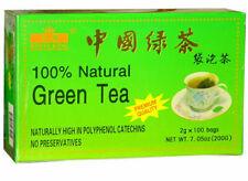 4 X  100 bags Royal King 100% Natural Green Tea No Preservatives