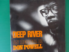 LP DON POWELL DEEP RIVER UN RECITAL DI DON POWELL 1968 COME NUOVO LOOK