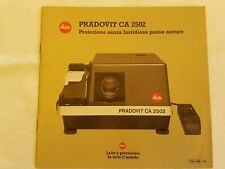 LEITZ PRADOVIT CA 2502 - proiettore dia  in italiano