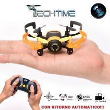DRONE QUADRICOTTERO CON TELECAMERA MINI UFO FPV WIFI JXD 512W RITORNO AUTOMATICO